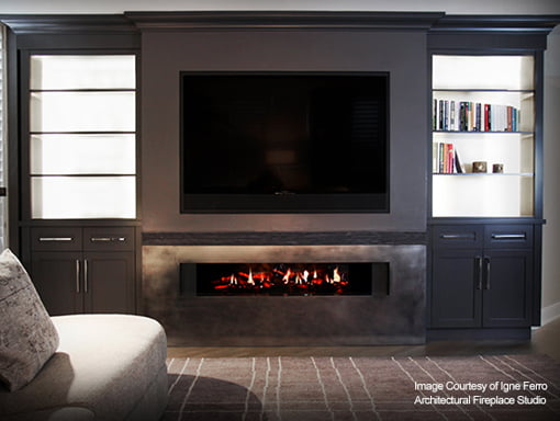 electric fireplace Surrey
